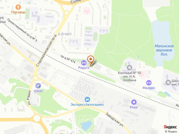 Остановка Корпус 815 в Москве