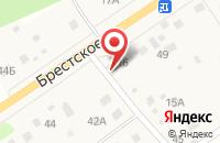 Схема проезда до компании Слобода в Сахарово