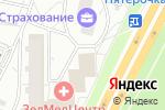 Схема проезда до компании Ателье в Зеленограде