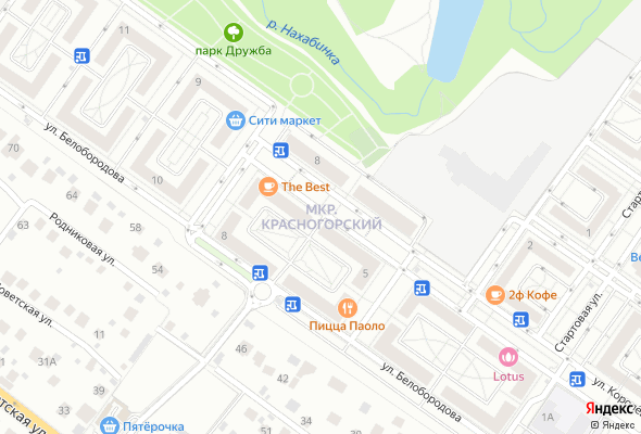 жилой комплекс Красногорский