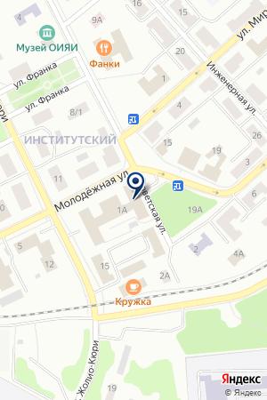 ДЕЖУРНЫЙ ПО ГОРОДУ МУНИЦАЛЬНОЕ ОБРАЗОВАНИЕ Г. ДУБНЫ на карте Дубны
