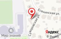 Схема проезда до компании Новое строительство в Грибаново