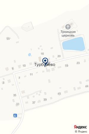 ТРОИЦКАЯ ЦЕРКОВЬ на карте Дмитрова