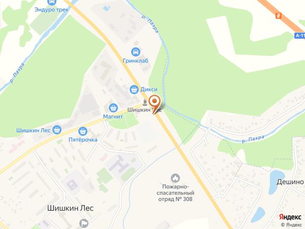 Остановка «Шишкин лес», шоссе А-107 (10908) (Москва)