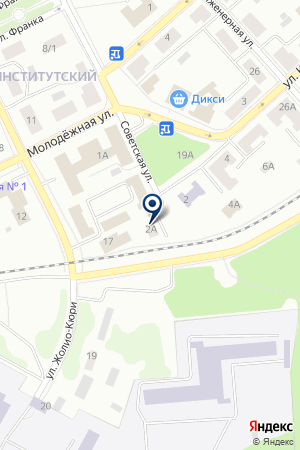ДУБНЕНСКАЯ ТИПОГРАФИЯ на карте Дубны