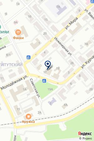 КБ УРАЛСИБ на карте Дубны