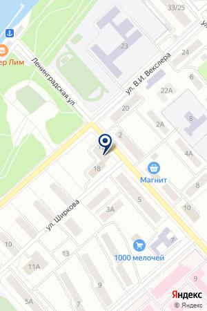 САЛОН КРАСОТЫ ЮНА-ЛЮКС на карте Дубны