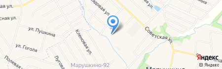 Марушкино на карте Москвы