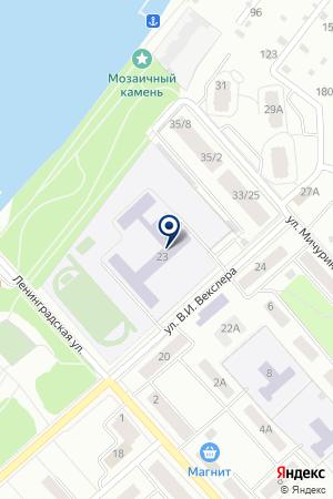 ДУБНЕНСКАЯ ГИМНАЗИЯ № 8 на карте Дубны