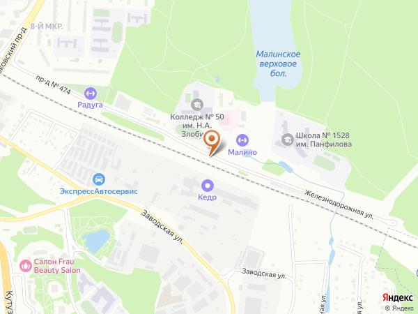 Остановка Корпус 856 в Москве