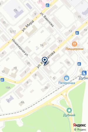 ПРОДОВОЛЬСТВЕННЫЙ МАГАЗИН ДАРЫ ПРИРОДЫ на карте Дубны