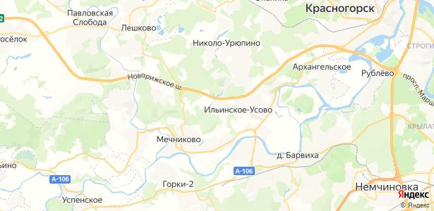 Бузланово на карте
