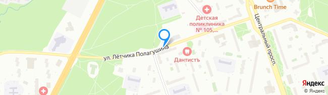 улица Лётчика Полагушина