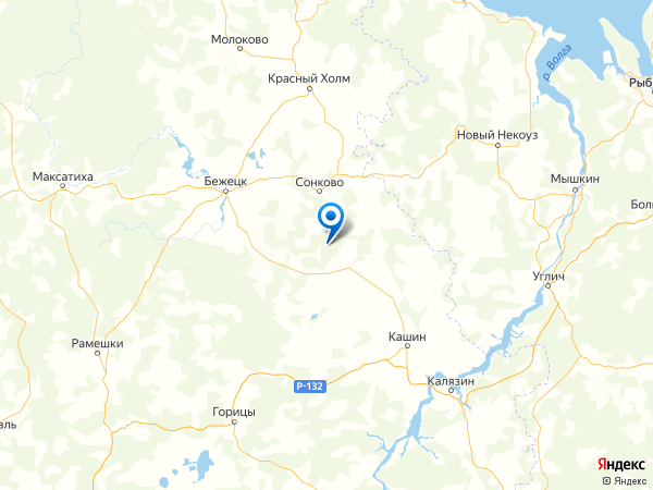 деревня Лаврово на карте