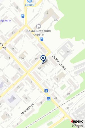 ДУБНЕНСКИЙ ОТДЕЛ ВНУТРЕННИХ ДЕЛ (ОВД) на карте Дубны
