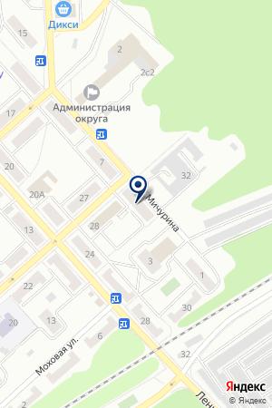 АТЕЛЬЕ ВИДЕОПРОКАТА ЧАЙКА на карте Дубны