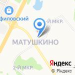 Центр физической культуры и спорта Зеленоградского административного округа на карте Москвы