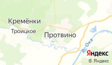 Отели города Протвино на карте
