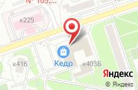 Схема проезда до компании Марби + в Москве