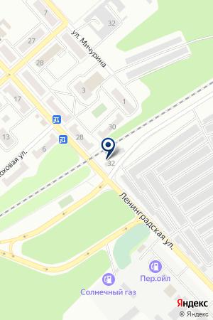 ПРОДОВОЛЬСТВЕННЫЙ МАГАЗИН ПУТНИК на карте Дубны