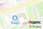 Схема проезда до компании Настенька в Москве