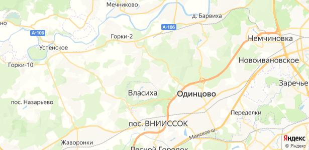 Лайково на карте