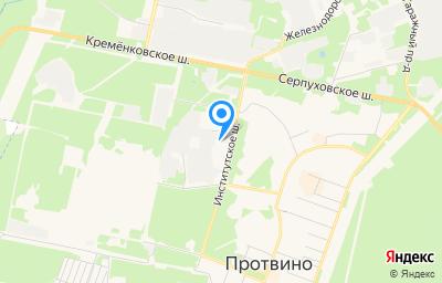 Местоположение на карте пункта техосмотра по адресу Московская обл, г Протвино, ш Институтское, д 4А