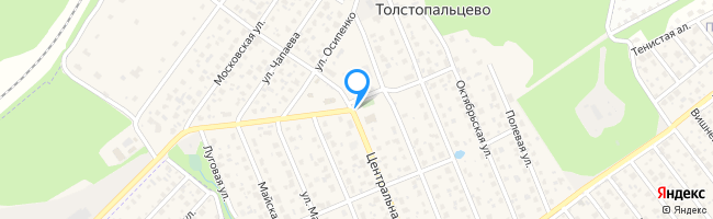 посёлок Толстопальцево