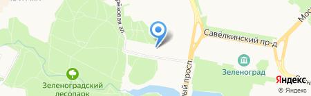 Цивилист на карте Москвы