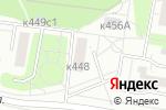Схема проезда до компании Цивилист в Москве