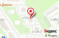 Схема проезда до компании Сто Друзей в Москве