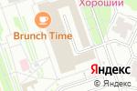 Схема проезда до компании Воздушные Шары в Москве