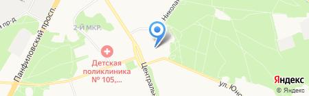 Босфор на карте Москвы