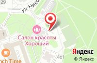 Схема проезда до компании Суши радуга 86 в Солнечном