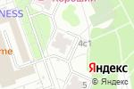 Схема проезда до компании Фарфор-Хрусталь в Москве