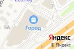 Схема проезда до компании Банкомат, Банк Уралсиб, ПАО в Лесном Городке