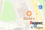 Схема проезда до компании Fuji-Lab в Москве