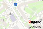 Схема проезда до компании Qiwi в Лесном Городке