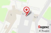 Схема проезда до компании Грин Сайд Строй в Москве
