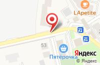 Схема проезда до компании Hot Iron в Ильинском