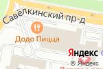 Схема проезда до компании Гут в Москве