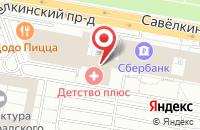 Схема проезда до компании Медиаград в Москве