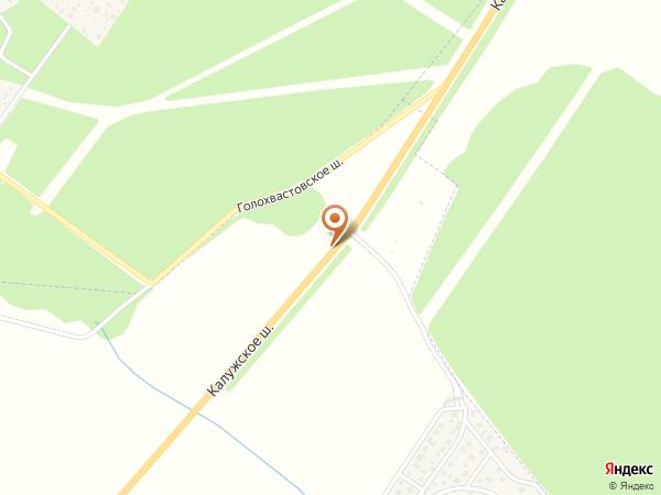 Остановка «КП Стольный», Калужское шоссе (1008861) (Москва)