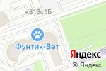 Схема проезда до компании Фунтик в Москве