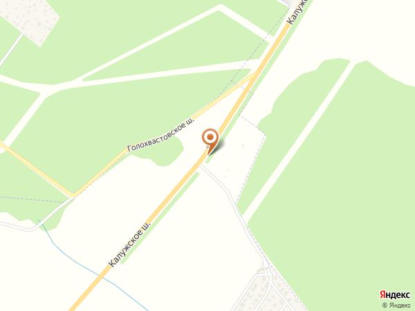 Остановка «КП Стольный», Калужское шоссе (1008862) (Москва)