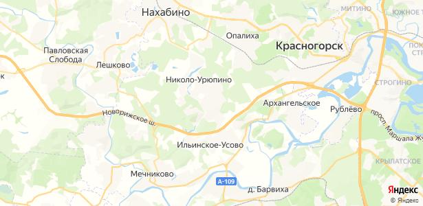 Поздняково на карте