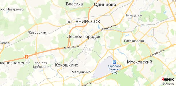 Осоргино на карте