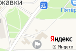 Схема проезда до компании Магазин кондитерских изделий в Ржавках