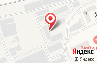 Схема проезда до компании Пиломакс в Усово