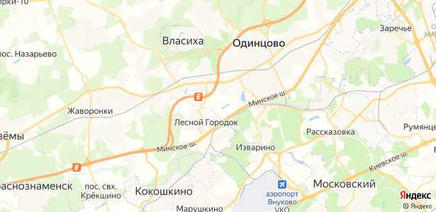 Бородки на карте